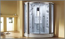 aquapeutics  St. Kitts Steam Shower